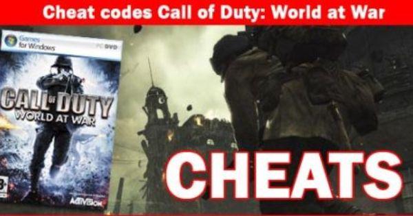 Call of Duty: World at War Cheats, PC