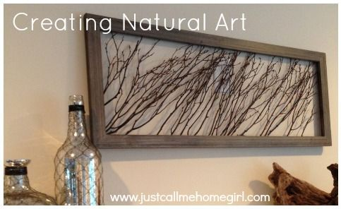 Natural Art Project Just Call Me Homegirl Stick Wall Art Nature Decor Diy Art