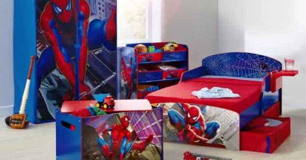 desain kamar tidur anak laki laki dengan tokoh kartun