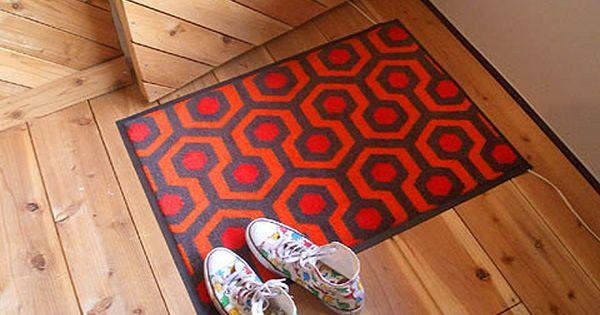 Chiller Scary Good Hotel Carpet Carpet Runner Overlook Hotel Carpet