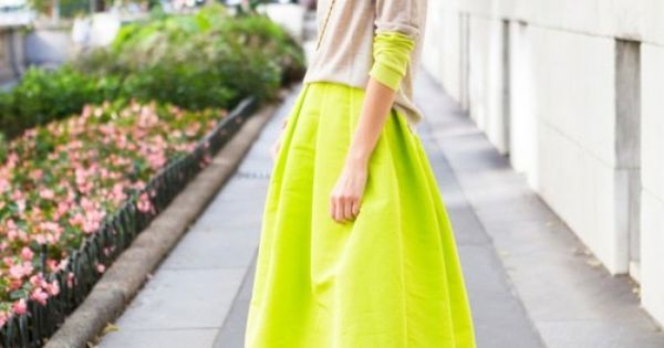 neon // Color combo is so good.
