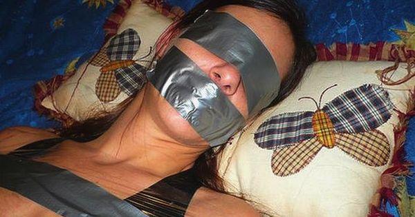 I love Duct tape! | Bondage | Pinterest | Duct tape