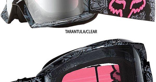 Fox Racing Main Tarantula Women's Goggles « Motorcycle Rider Gear Orange County