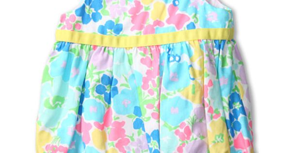 Lilly Pulitzer Kids Britta Baby Bubble Dress Infant