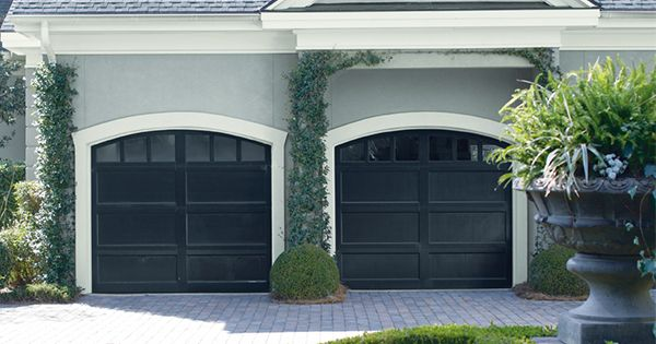 Exterior home paint ideas inspiration coventry gray for Coventry garage doors