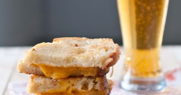 Grilled Beer Cheese Sandwich | Delight bites. | Pinterest | Beer ...
