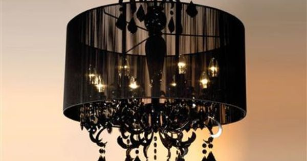 The Stylish Chandelier 8 Arm Chandelier, Black : My Style : Pinterest : Chandeliers, Future ...