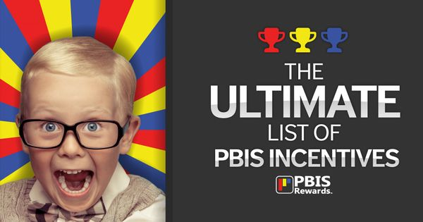 Classroom Reward Ideas For Middle School ~ This ultimate list of pbis incentives contains over