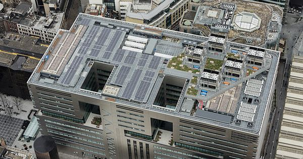 Hot Melt Waterproofing At 5 Broadgate City Of London London City Roofing City