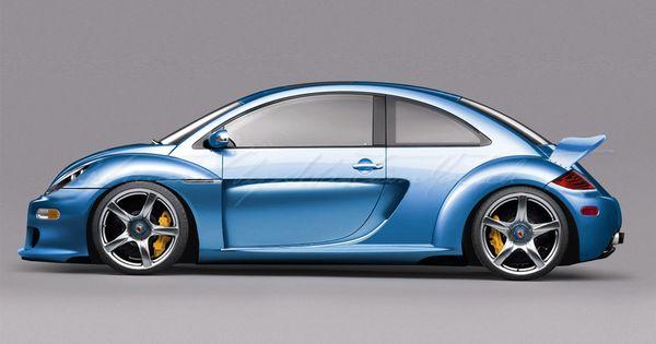 Virtualmodels Volkswagen New Beetle Cgt Crossover Porsche