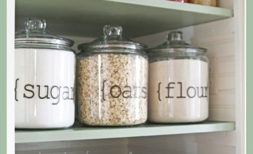 Organized Pantry Ideas! | Not Just a House Wife. Love my pantry