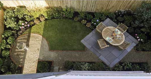 Small Backyard Ideas�--This looks a lot like our backyard design!