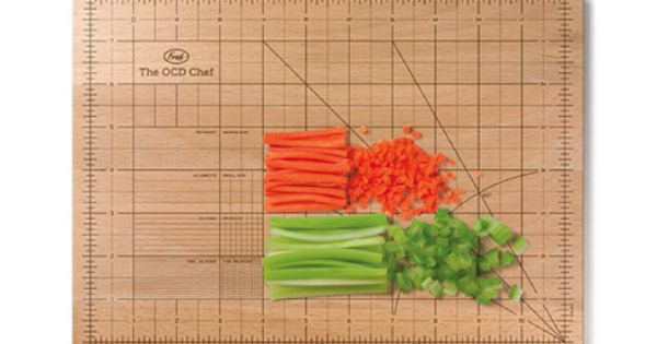 OCD cutting board - cute gift idea