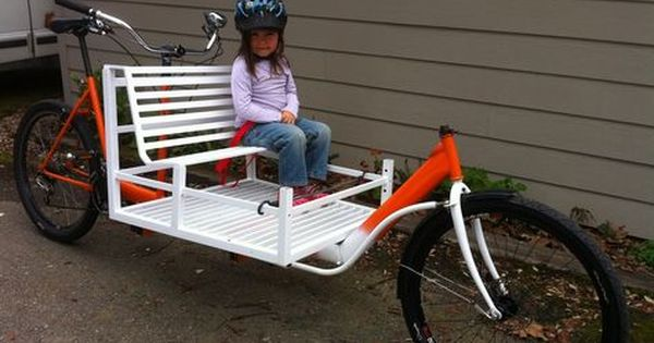 Cargo Bike Fahrrad Fahren Fahrrad Lastenfahrrad