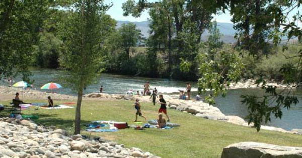 Find an urban escape at wingfield park in reno nevada for Sparks marina fishing