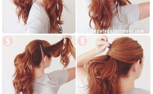 www.lunacatstudio.com beauty hair makeup blog template wordpress premium lucy hale vma ponytail- this just might be the perfect pony!