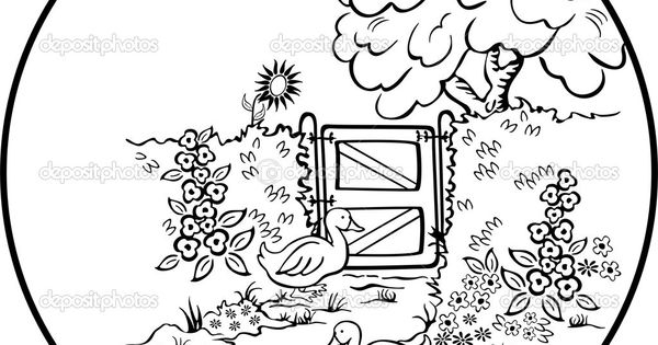 coloring pages island scene - photo#18