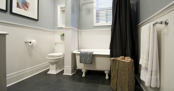 Black slate tile 12x12 in bathroom bathroom ideas for Bathroom designs 12x12