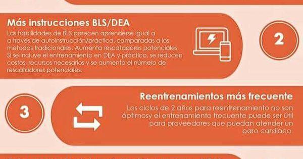 #Infografía: 5 cambios de educación para la reanimación. # ...