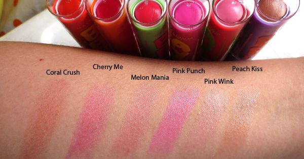 maybelline baby lips swatches. Pink punch is a dupe for ...