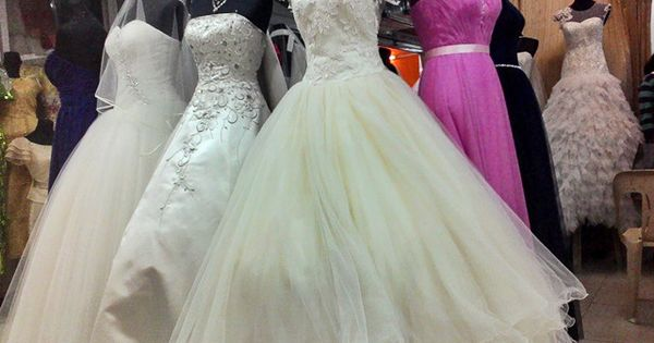 Wedding Gown For Sale In Divisoria