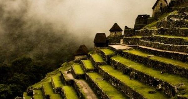 I have to go here - Machu picchu side terraces by Francisco