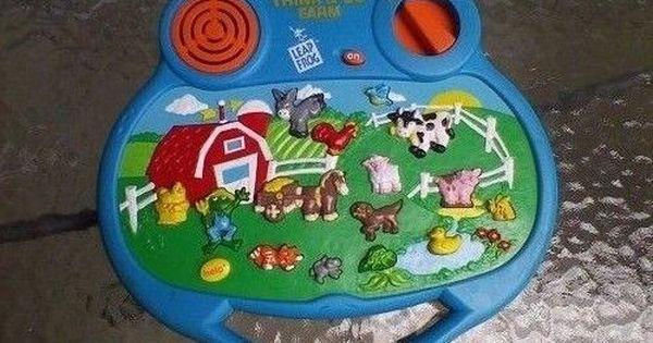 Leap Frog Think Go Farm Electronic Handheld Toy Think Go Farm