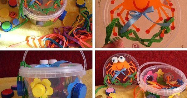 Развивающие игрушки своими руками для детей 2 лет