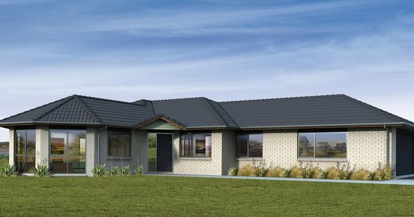 Casas de un piso y tres dormitorios planos y fachadas de for Fachadas de casas modernas 3 cuartos