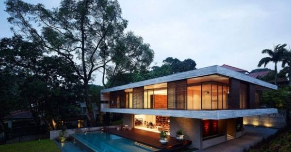 JKC1 House, Interior Architecture by ONG & ONG 1/14 by yossawat.com, via