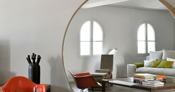 Miroirs originaux cercles miroirs ronds et eames for Desire miroir miroir