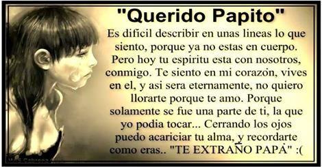 Pin De Cecilia De Figueroa En Papa Lo Extraño Carta Para