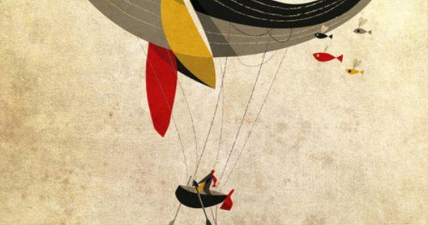 I believe i can fly Art Print by Riccardo Guasco - $22.88