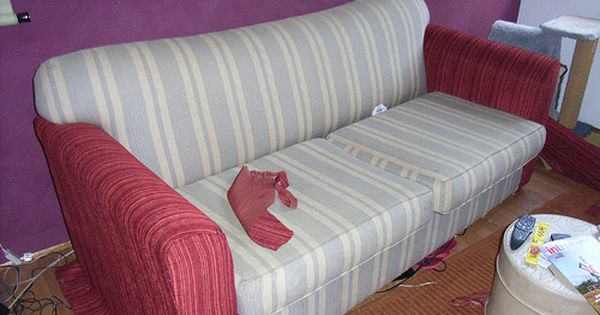 Do It Yourself Furniture: Do It Yourself: How To Reupholster A Couch