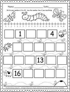 Resultado De Imagen Para Number Tracing Worksheets Pdf Lembar Kerja Belajar Pendidikan - View Kindergarten Number Tracing Worksheets Pdf Gif