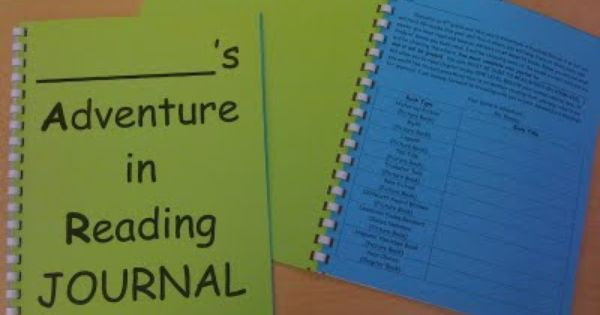 Reading journal ideas
