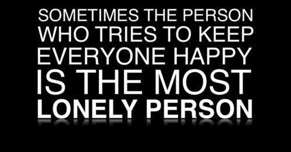 Do You Know A Lonely Person?.. For more Thought of the Day