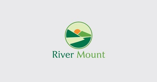 River Mount – Very stylish, clear and modern logo template