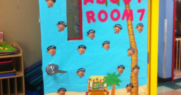 Luau Classroom Door Classroom Ideas Pinterest