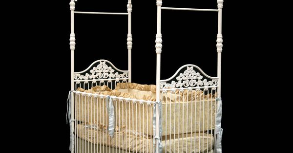 Iron canopy crib crib baby corsican georgiababy atlanta furniture corsican pinterest - Vintage antique baby room ideas timeless charm appeal ...