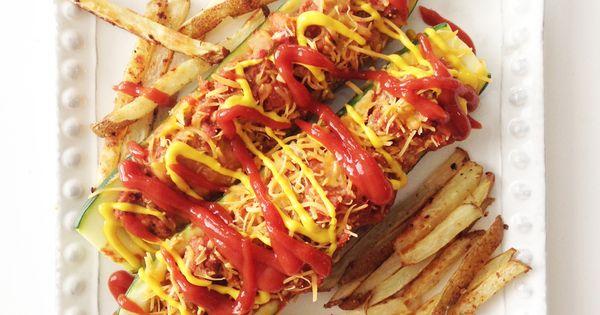 Cheeseburger Stuffed Zucchini Boats | Zucchini boats ...