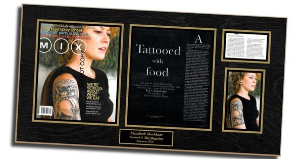 tattoo shops look for an edge when they frame magazine articles for display when featured in magazine publications pinterest shops newspaper and
