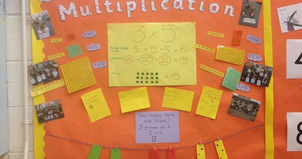 Classroom Layout Ideas Ks1 : Multiplication display ks teaching ideas pinterest