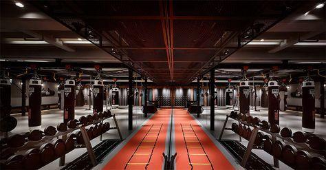 Boxing Plus Taipei Taiwan The Cool Hunter Gym Design Gym Design Interior Gym Interior