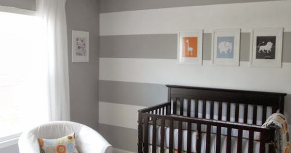 Boy nursery idea.