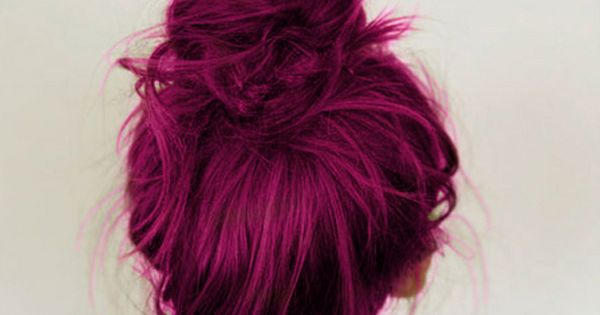 magenta hair hair haircolor color salon beauty