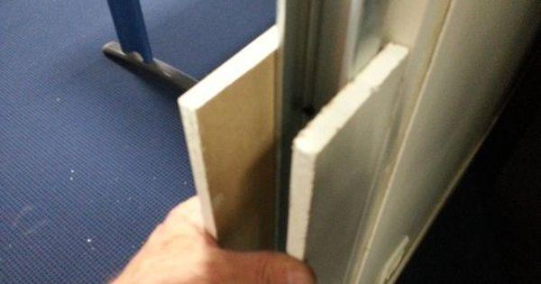 Comment Condamner Proprement Une Porte Avec Du Placo Reussir Ses Travaux Cloison Placo Cloison Portes