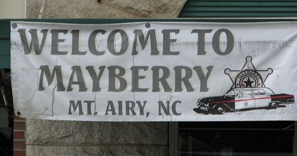 Mount airy aka mayberry nc home of andy griffith for Mayberry motor inn mt airy nc