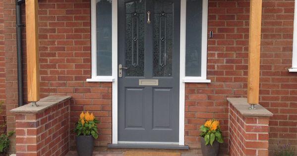 Front Door Entrance Exterior Curb Appeal