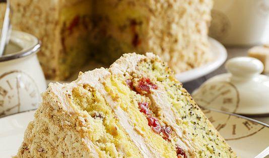 Торт радуга рецепт с фотографиями